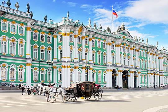 Konst och kultur i St Petersburg